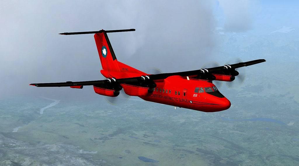 Testflug mit DHC7 1405201419