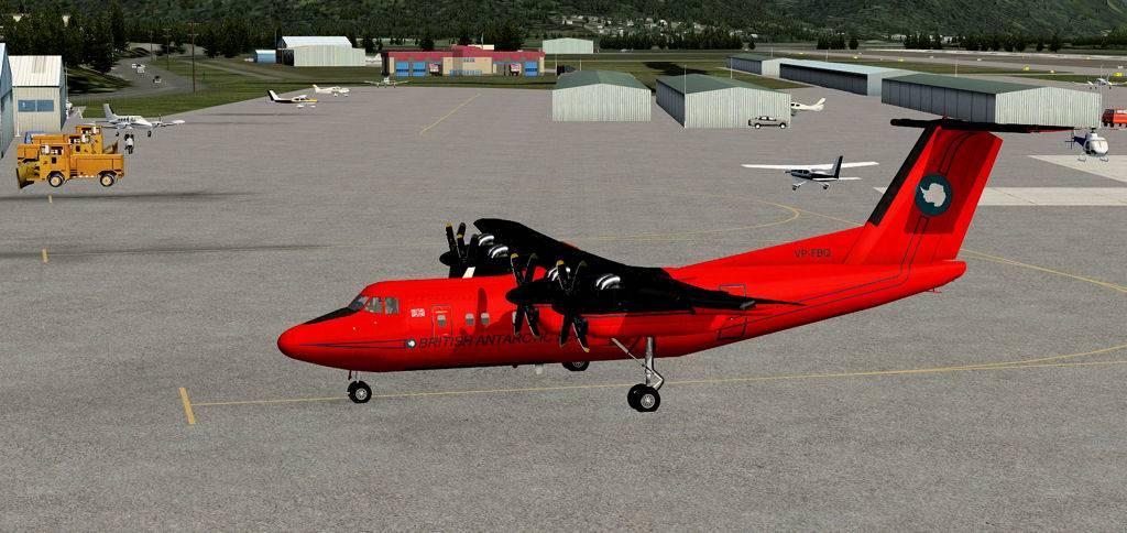 Testflug mit DHC7 1405201420