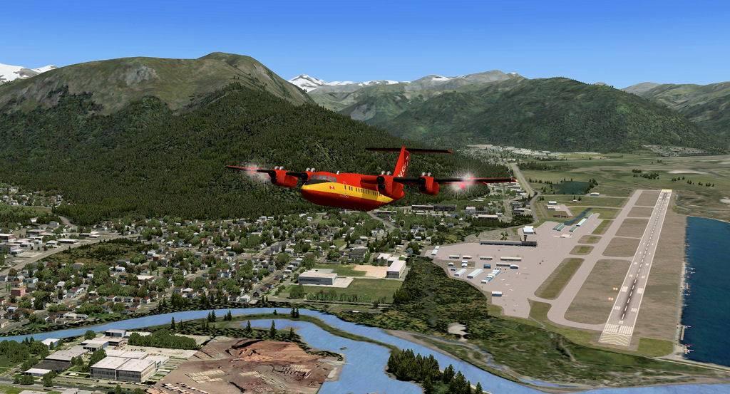Testflug mit DHC7 140520144