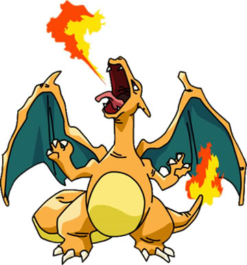 Picture Destroyer Game! Charizard