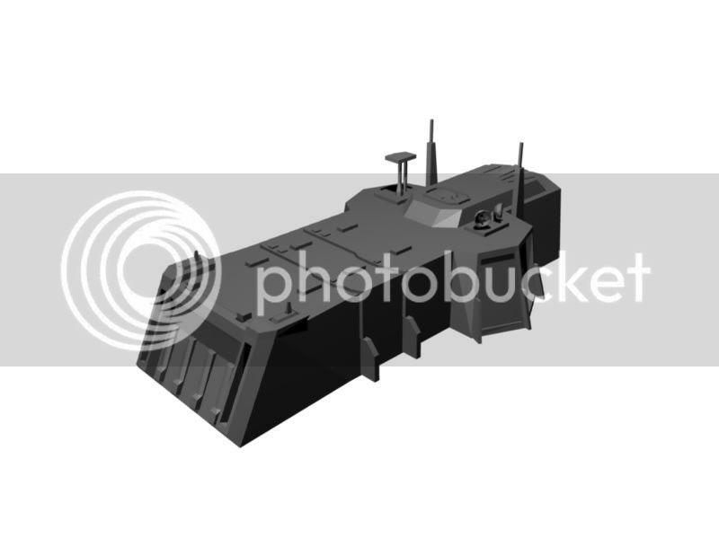 G4B3 Cammand Center Model WarHammer