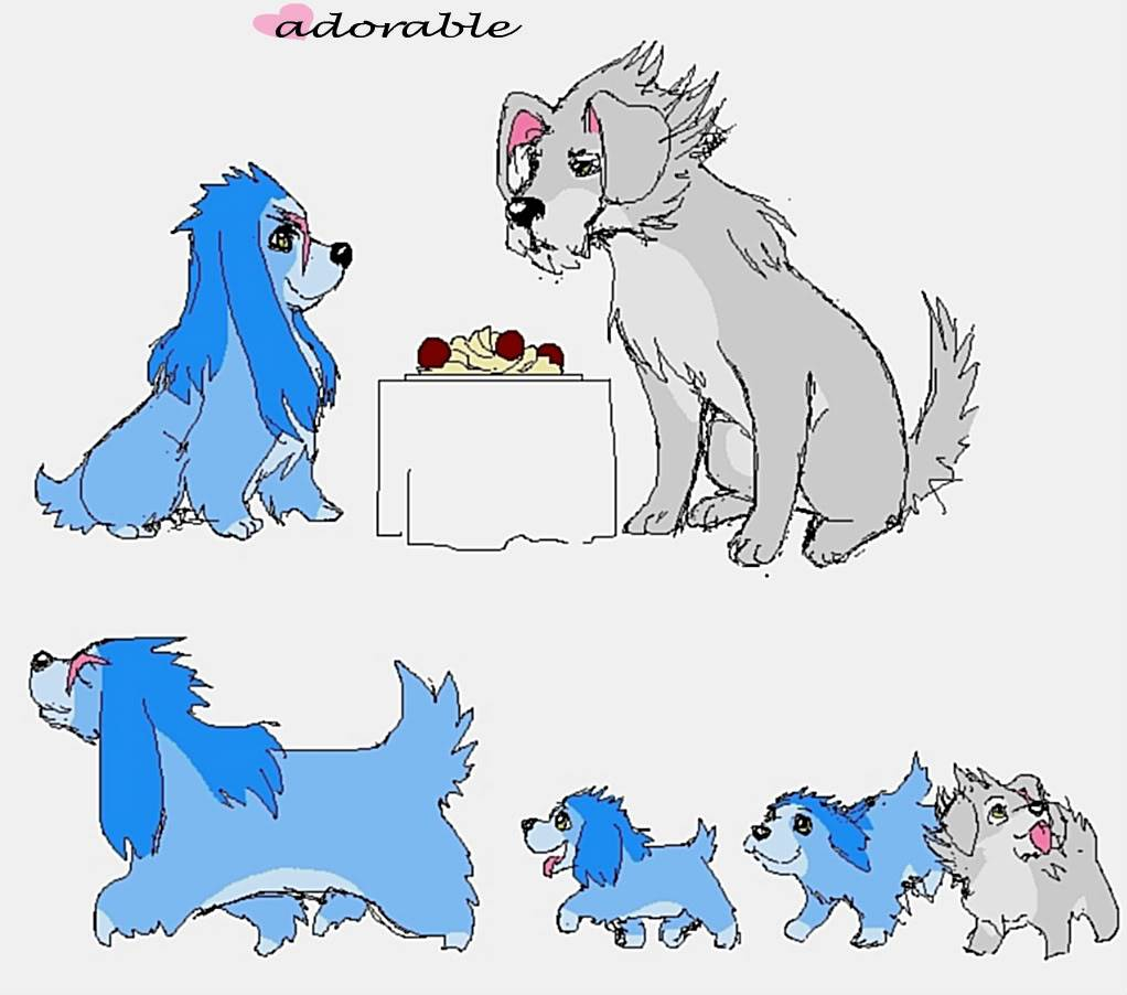 Adorable Pics - Page 2 Saix_and_the_Tramp_by_akumagami