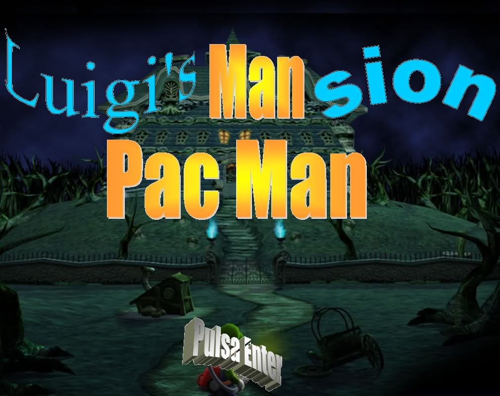 Mi Primer Juego Luigi's Mansion Pacman Screenshot100-1