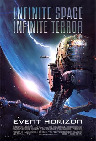 CINEMA FANTÁSTICO - Dicas de filmes de terror, horror, ficção-científica, fantasia e demais temas relacionados à arte fantástica. Event-Horizon-Posters