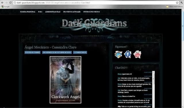 Clockwork Angel Traducido Dg10