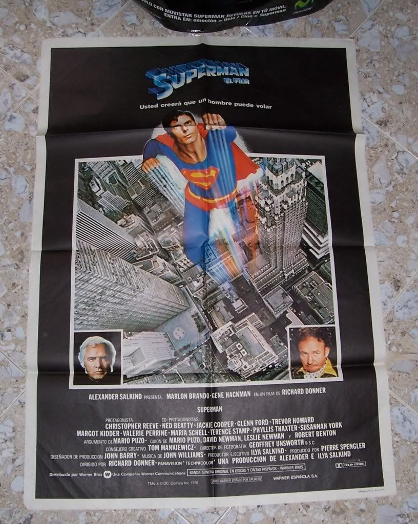 Superman: The Movie On Line 8100_2922si