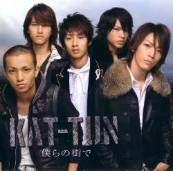 KAT-TUN: Lista de sencillos (single) Bokura-no-machi-de-cover-cddvd-1