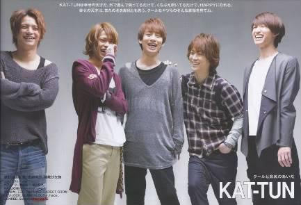 KAT-TUN: Noticias Group-1