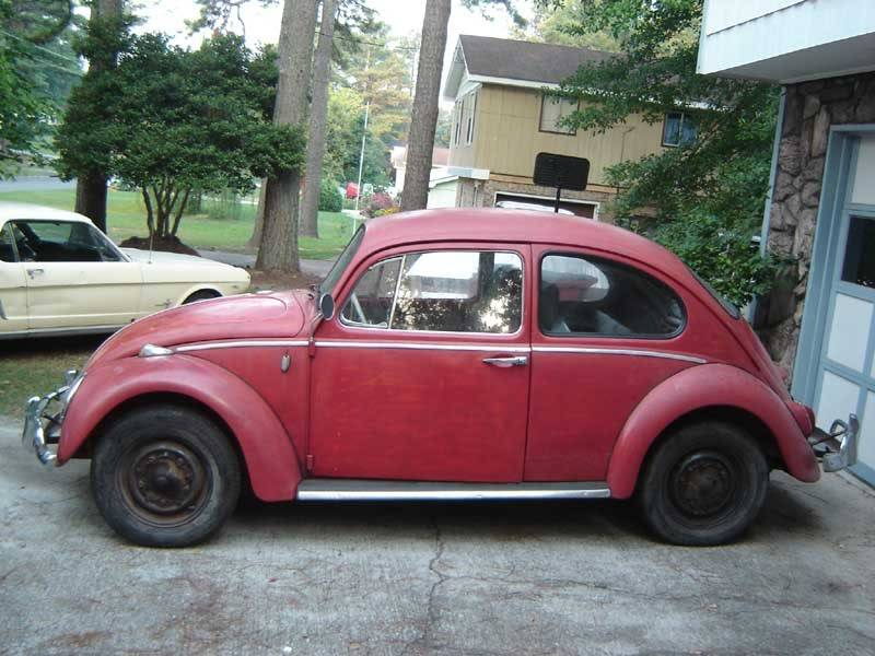 My '65 Beetle 1965RedVW07-19-0601