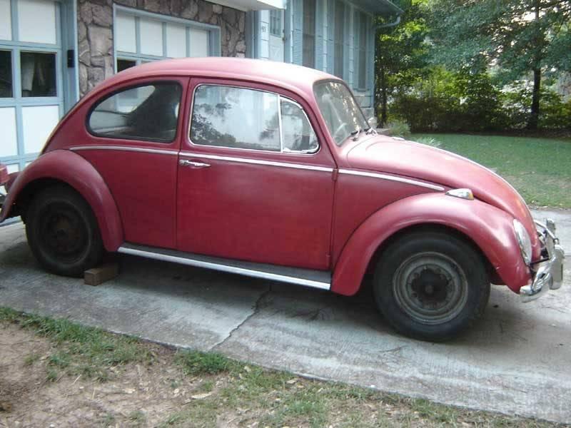 My '65 Beetle 1965RedVW07-19-0603