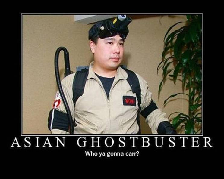 THREAD OF TOTAL RANDOMNESS Ghostbusters