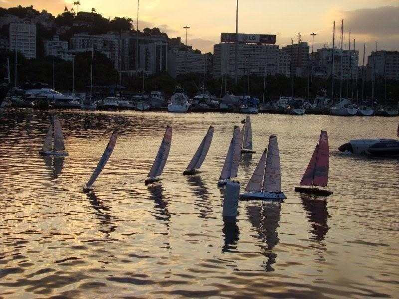 Festa da Flotilha Barravela do Rio de Janeiro na Volvo Ocean Race 2009 Abril2009139