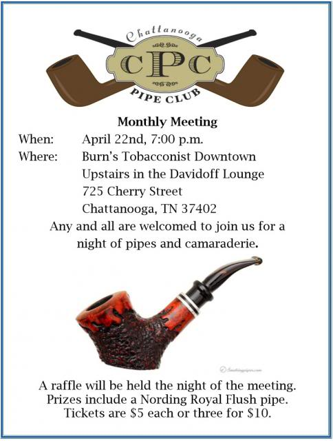 Chattanooga Pipe Club April Meeting 140422Meeting_zps03e6a9ea