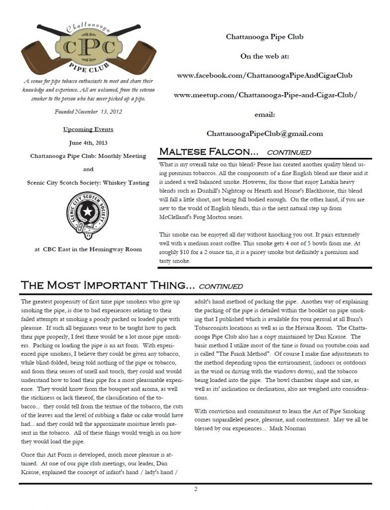 Our First Newsletter 130430Vol1Issue1Pg2_zpsa99dec6e