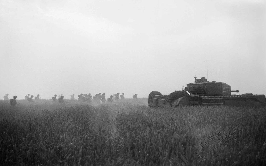 Churchill Tank MK VI B5956