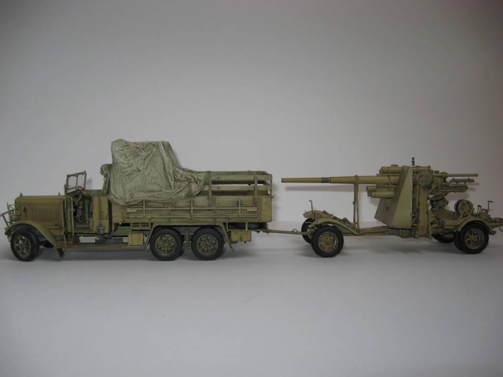 henschel 33 D1 ICM et canon Flak 18 AFV Club Montage et peinture terminés - Page 3 IMG_1268