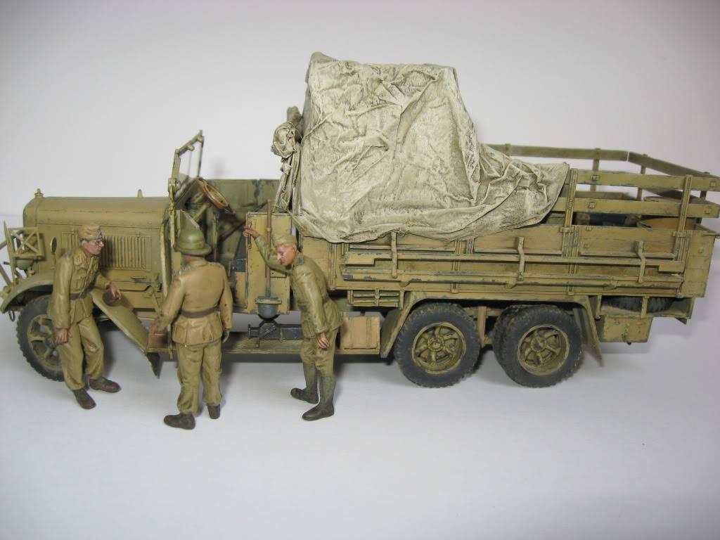 henschel 33 D1 ICM et canon Flak 18 AFV Club Montage et peinture terminés - Page 3 IMG_1278