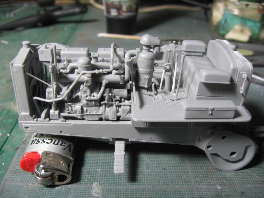 Bulldozer Caterpillar D7 avec lame hydraulique (terminé le 08/10/15) IMG_5394_1