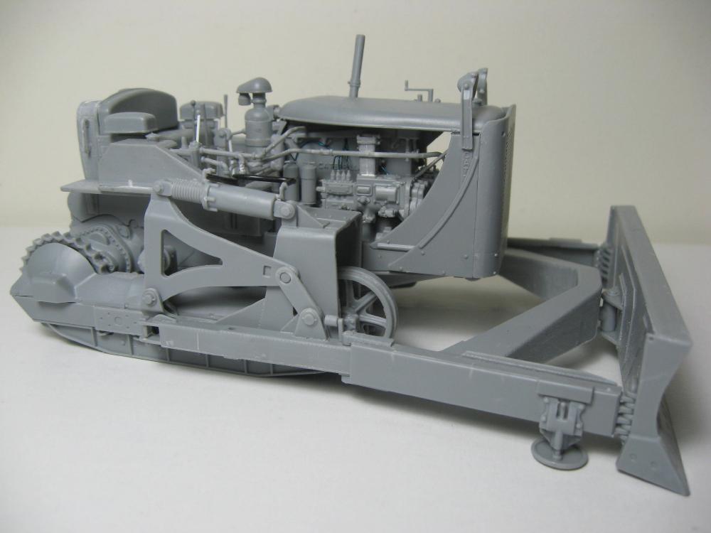 Bulldozer Caterpillar D7 avec lame hydraulique (terminé le 08/10/15) IMG_5398_1
