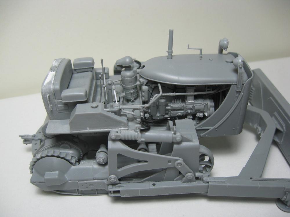 Bulldozer Caterpillar D7 avec lame hydraulique (terminé le 08/10/15) IMG_5399_2