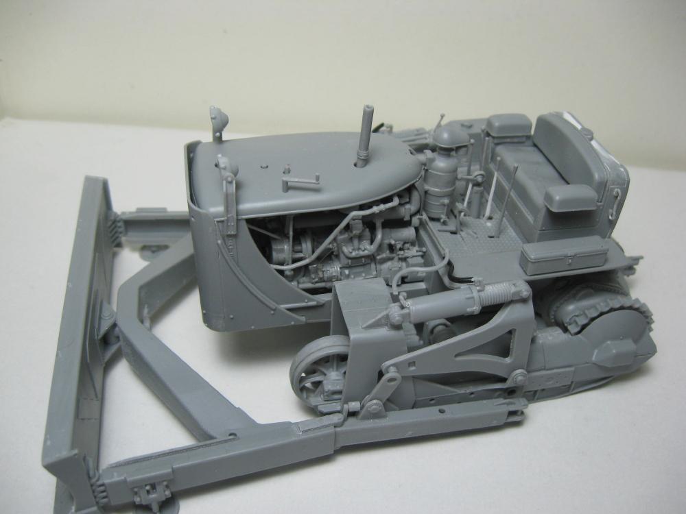 Bulldozer Caterpillar D7 avec lame hydraulique (terminé le 08/10/15) IMG_5401_4