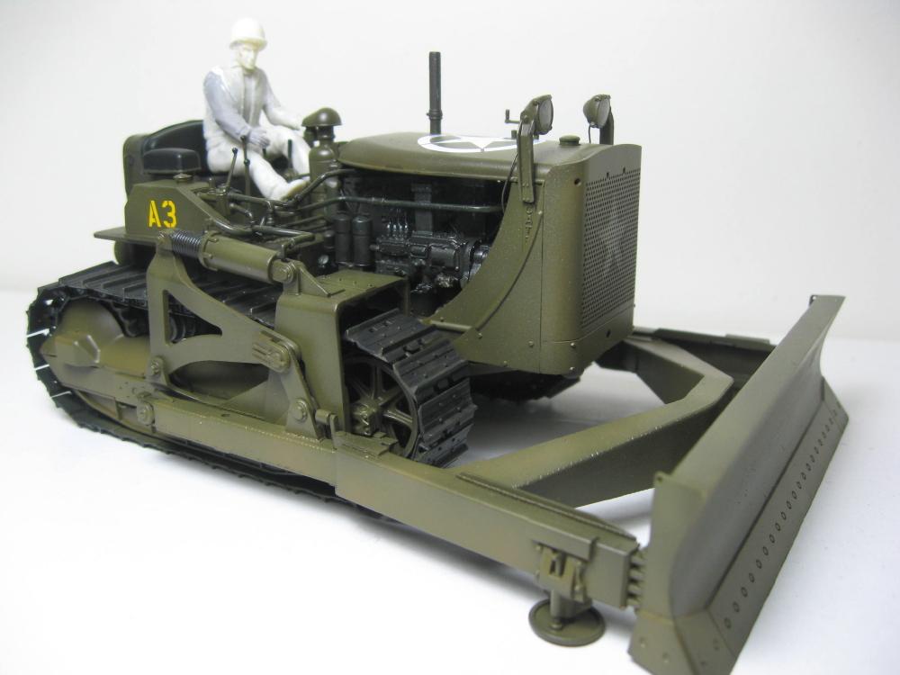 Bulldozer Caterpillar D7 avec lame hydraulique (terminé le 08/10/15) IMG_5408_1