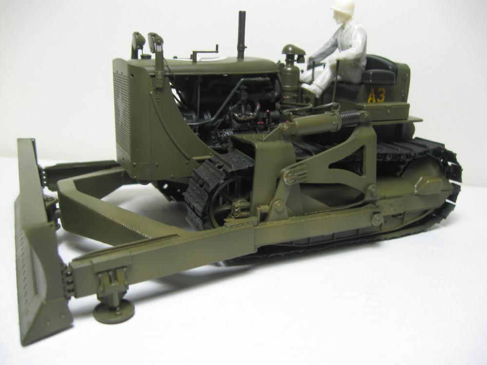 Bulldozer Caterpillar D7 avec lame hydraulique (terminé le 08/10/15) IMG_5410_3