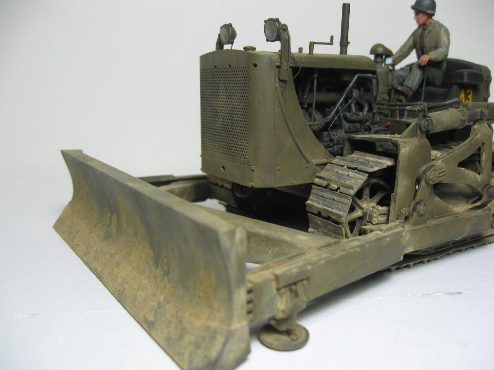 Bulldozer Caterpillar D7 avec lame hydraulique (terminé le 08/10/15) IMG_5414_2