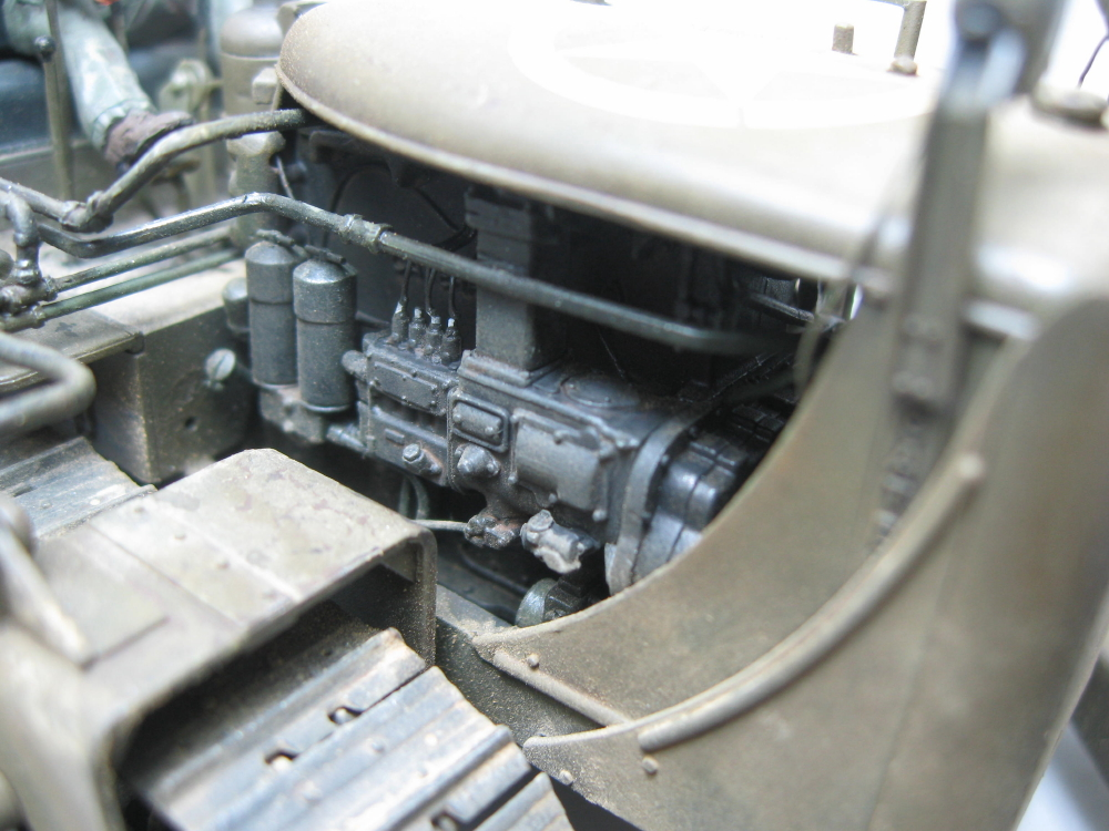 Bulldozer Caterpillar D7 avec lame hydraulique (terminé le 08/10/15) IMG_5420_8