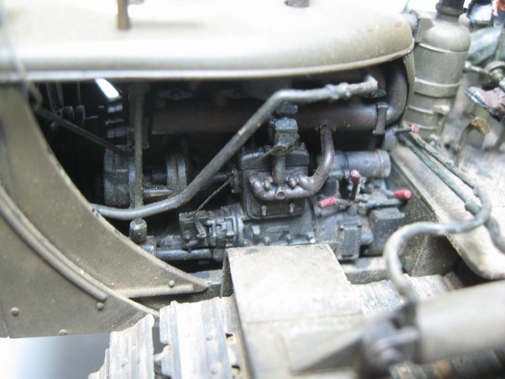 Bulldozer Caterpillar D7 avec lame hydraulique (terminé le 08/10/15) IMG_5426_14