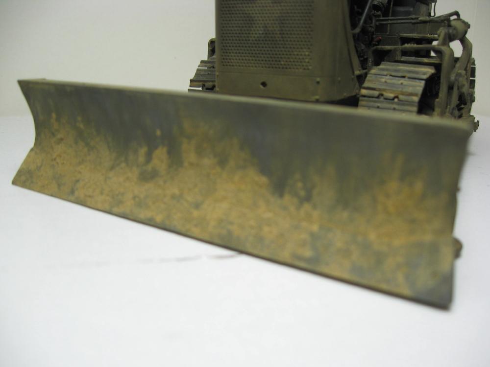 Bulldozer Caterpillar D7 avec lame hydraulique (terminé le 08/10/15) IMG_5427_15
