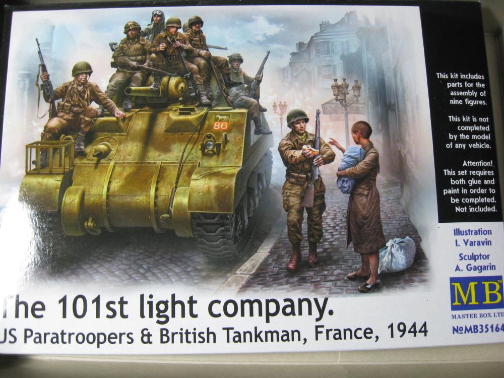 The 101st light company Masterbox 1/35 (en route vers Nimégue) IMG_5793_1