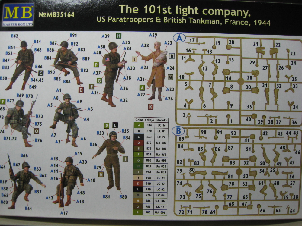 The 101st light company Masterbox 1/35 IMG_5799_7