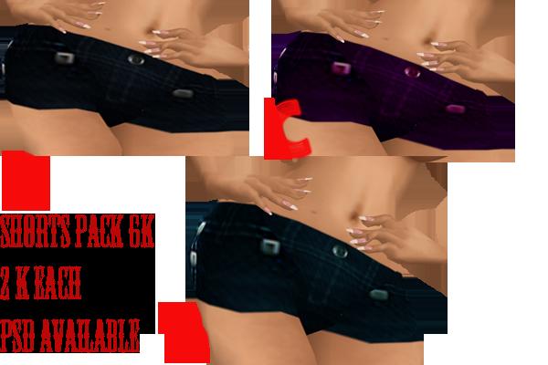 |Chantel's Boutique| Shortspack