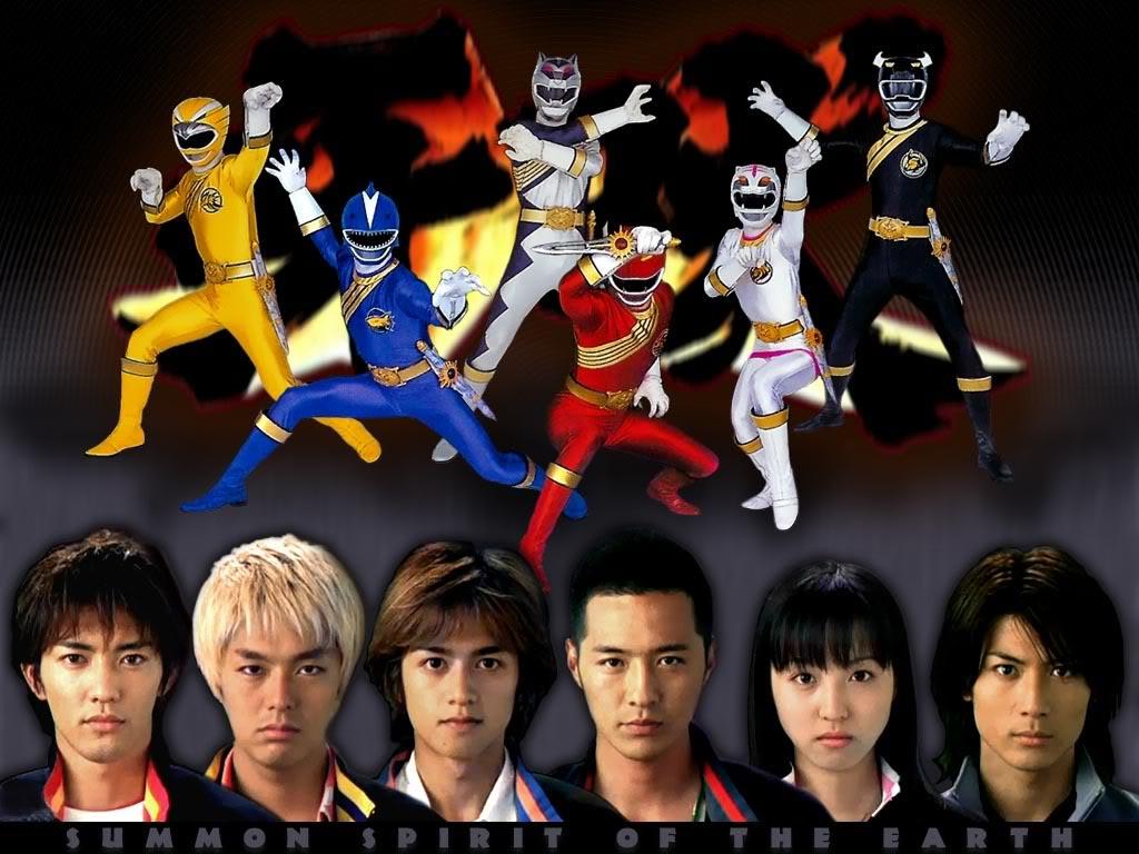 Hyakujū Sentai Gaoranger/Power Rangers Fuerza Salvaje Gao