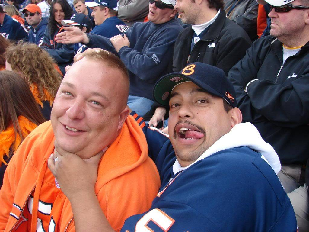 Pics from the BEARS game........ pic heavy! DSC03166