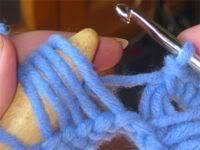 Đan khăn mẫu hoa cúc Broomstick-grund-16