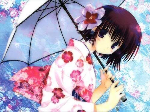 Rei's Application ((Incomplete)) Girlwithumbrellaandflower