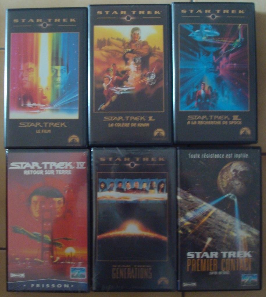 Cassettes vidéo Star Trek Films%20Star%20Trek