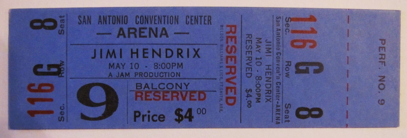 San Antonio  (Hemisfair Arena) : 10 mai 1970  2508c503205c376516a9e6d6ccfe578b