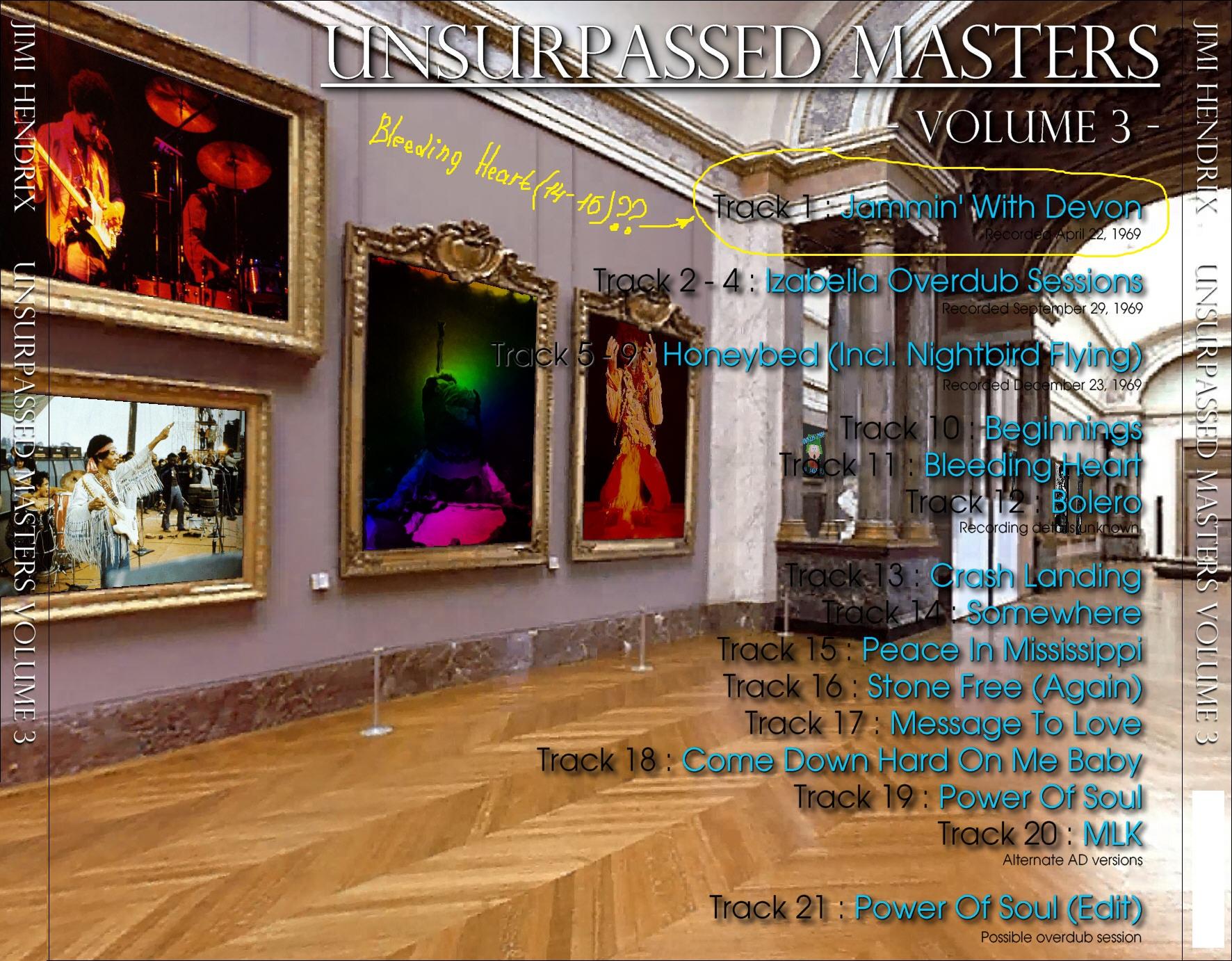 Unsurpassed Masters (ATM 086-090)  843406de0a83801108bee9f25fa4789d