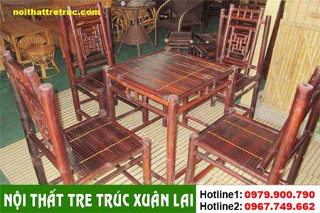 Bàn ghế tre – cafe, nhà hàng giá xuất xưởng chỉ với 380k/1b 1350000d_zpsaf812587
