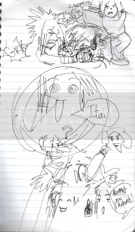 Mes dessins(Shima)(nouveau page 2) RonnyestenretardXD
