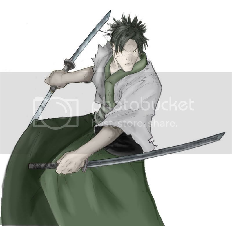 Mes dessins(Shima)(nouveau page 2) Samourai-1