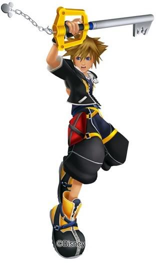 Sora, Le Maître de la Keyblade KingdomHearts2Sora