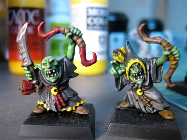 Night Goblins, I never was good at painting greenskins... IMG_0060