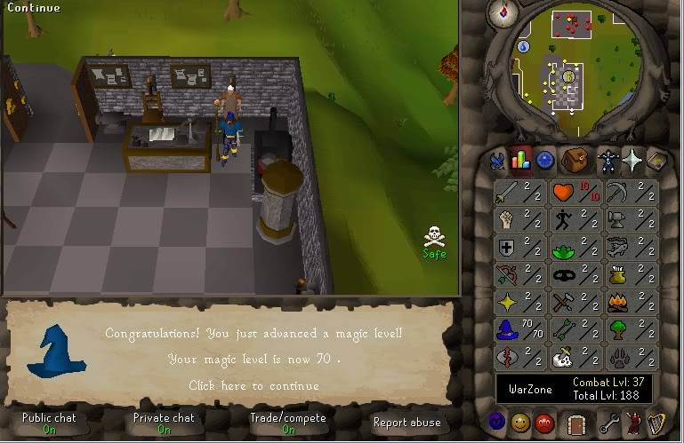 Senseless Taks = Completed at 65 Combat!!! New Record FTW? 70mage