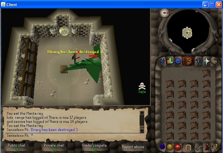Senseless Taks = Completed at 65 Combat!!! New Record FTW? Step1