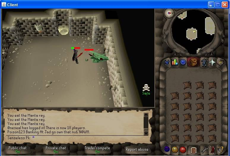 Senseless Taks = Completed at 65 Combat!!! New Record FTW? Step2