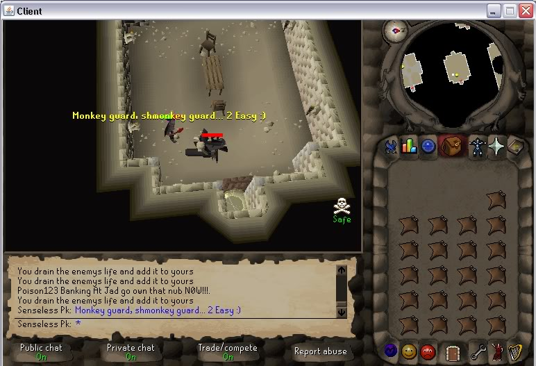 Senseless Taks = Completed at 65 Combat!!! New Record FTW? Step4